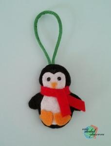 Pingúino llavero
